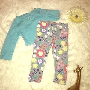 🌸 Carter's Matching Set 9 mos Girl 🌸